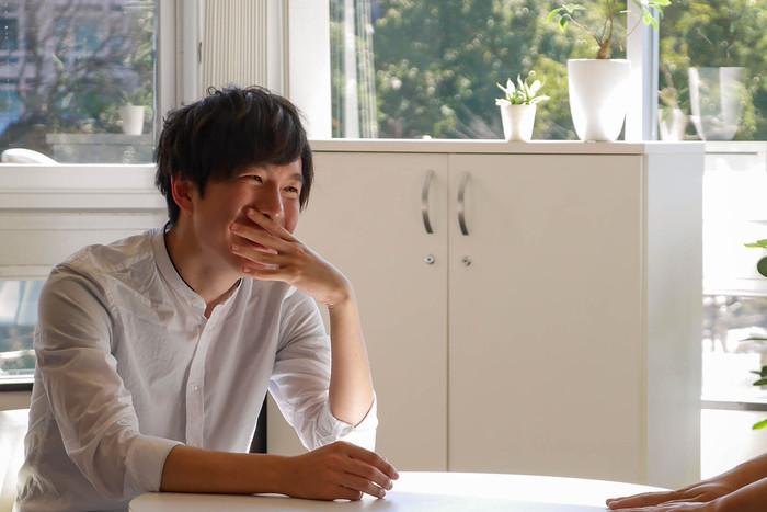 徳永さんと吉川の写真